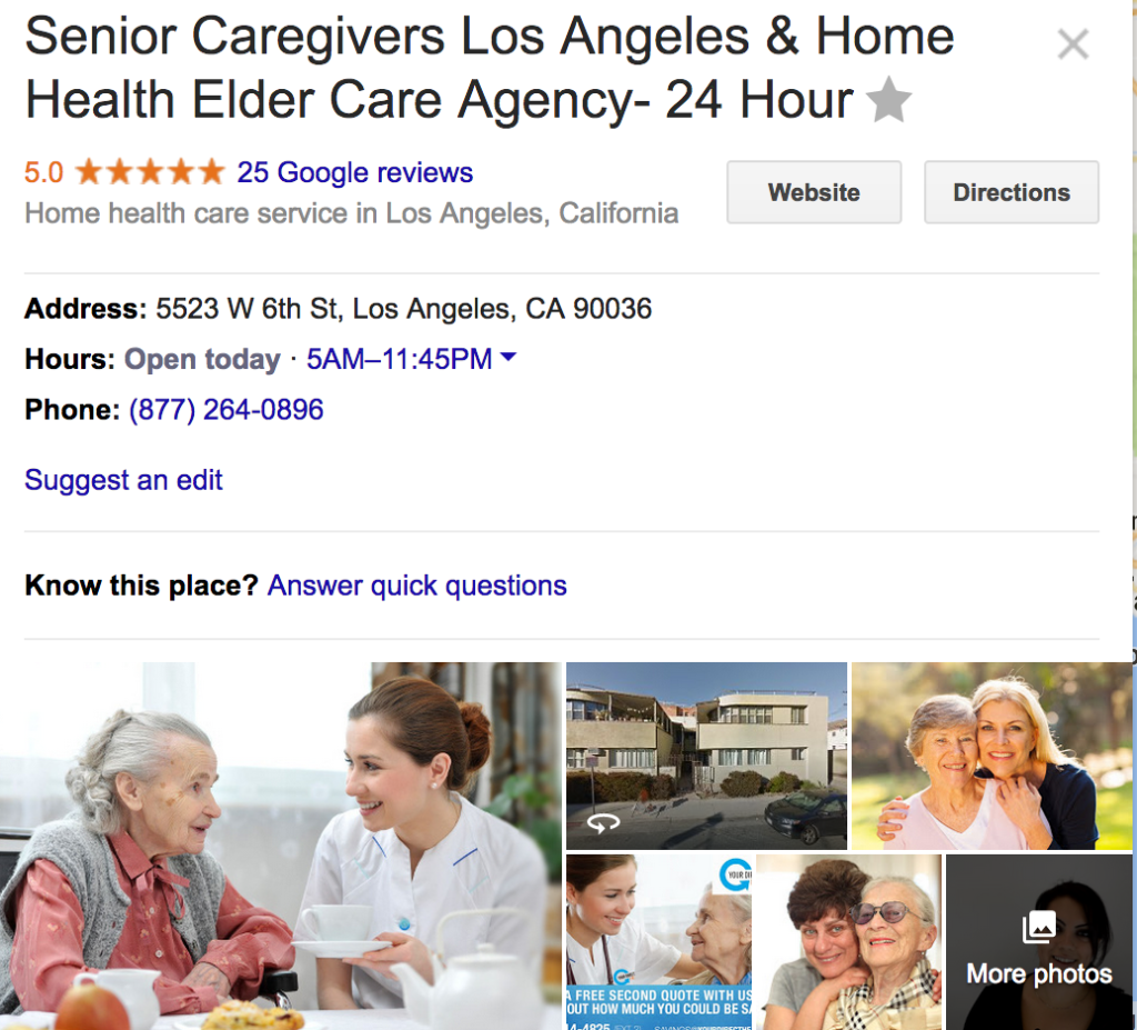 Caregivers Hermosa Beach